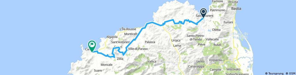 Corsica - Camp Kalliste (Saint Florent) - Camp La Pinéde (Calvi)