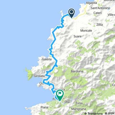 Corsica - Camp La Pinéde (Calvi) - Camp Les Oliviers (Porto)