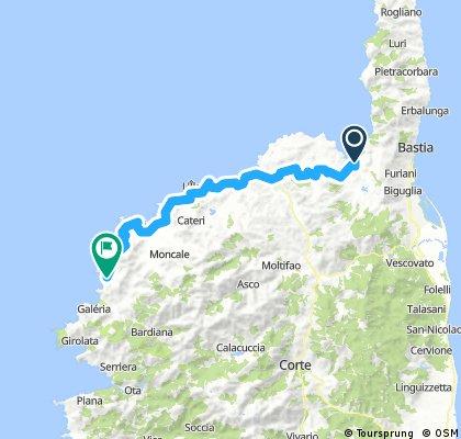 Corsica - Saint Florent - L´ Argentella