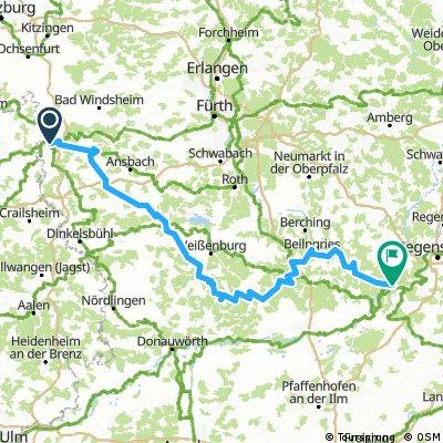Altmühltal-Radweg
