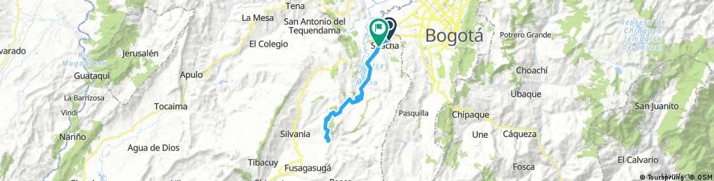 Autopista sur - la Aguadita