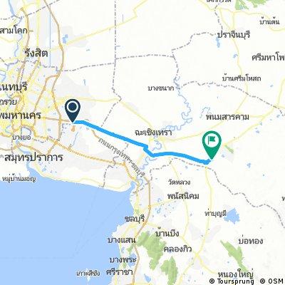 J 001 – Vendredi 06 janvier 2017  Bangkok (Lat Krabang) - Plaeng Yao