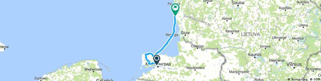 Baltikum 3 Kaliningrad - Klaipeda