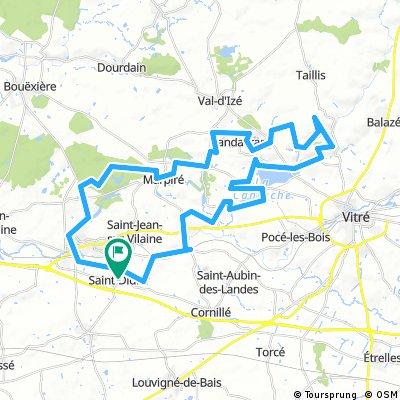 St Didier 60 km