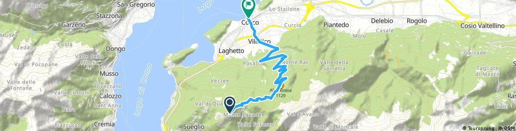 Monte Legnoncino - Colico