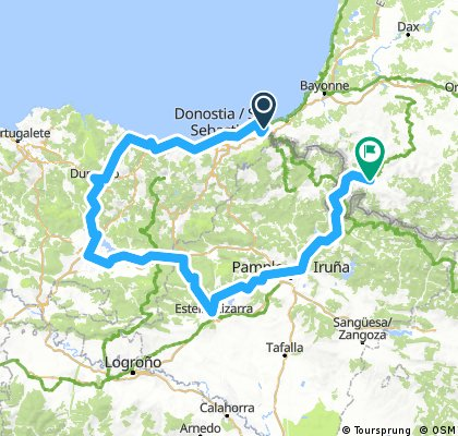 possible basque tour