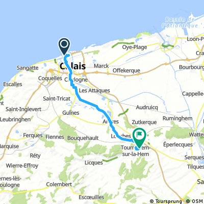 001 - Calais - Tournehem-sur-la-Hem