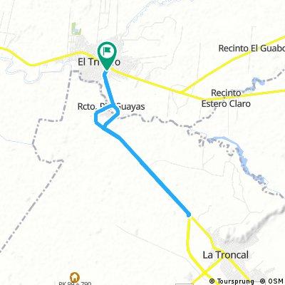 bike tour through Coronel Marcelino Maridueña