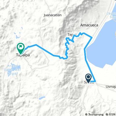 Stage 8 2017 Sayula/ Tapalpa