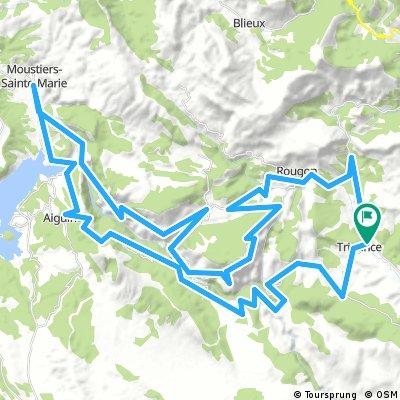 105km - Les gorges du Verdon