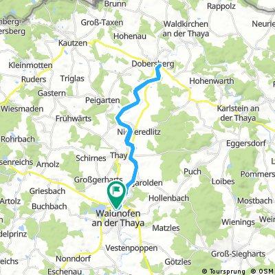 Waidhofen - Dobersberg - Waidhofen