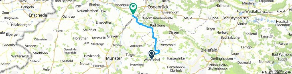Tag 6 Von Warendorf nach Tecklenburg