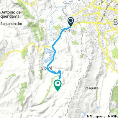 Autopista sur - Alto el romeral