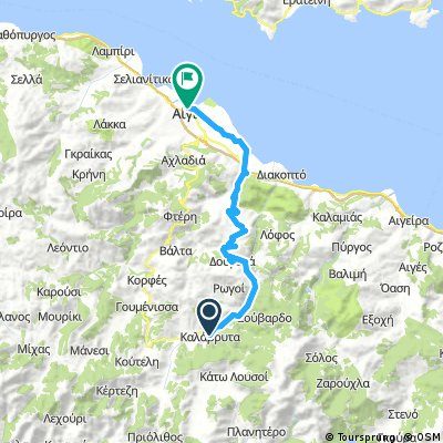 2017 G14 Kalavrita (Korinth) - Egio (Agio Nikolaos)