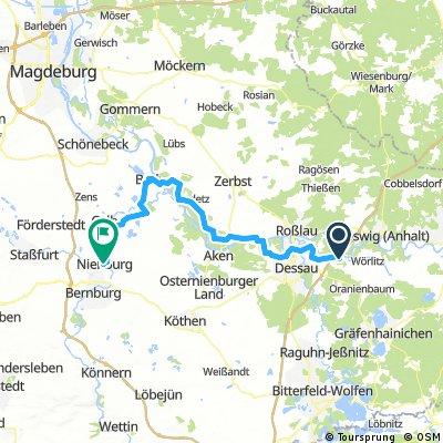 Vockerode - Nienburg (Saale)