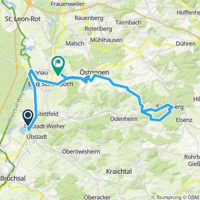 Bike Course 5150 Kraichgau