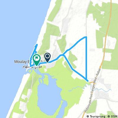 Bike Tour in der Gegend um Moulay Bousselham