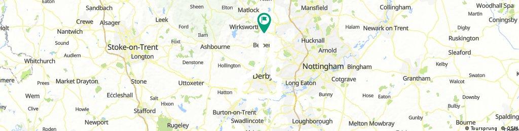 Loop around Derby