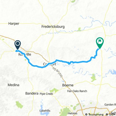 Kerrville to Blanco State Park