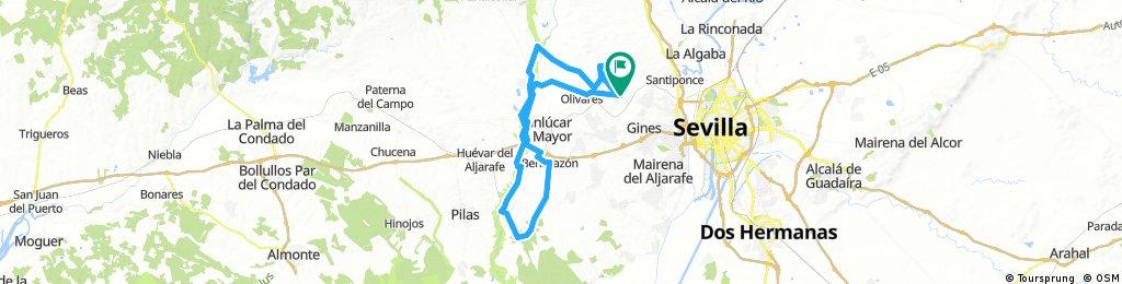 Salteras-CCarboneros-CVerde Guadiamar-Salteras