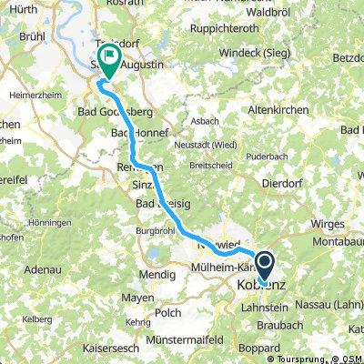 RWU 2017 Tappa 10 - Koblenz - Bonn