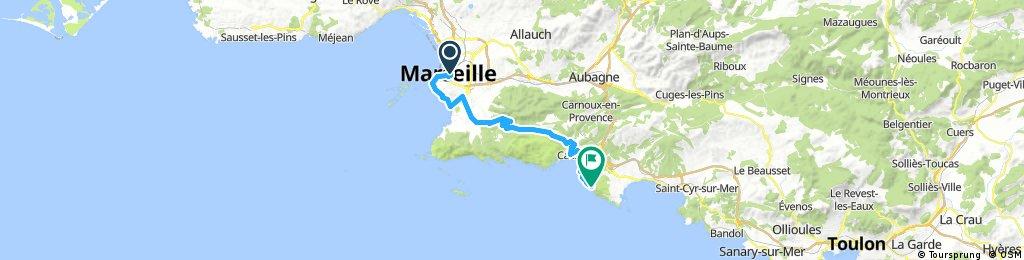 marseille - route des cretes