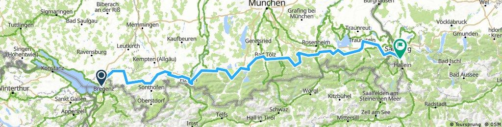 2017 Bodensee - Salzburg