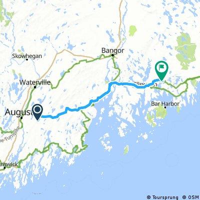 Day 11 Augusta to Buckskin Island