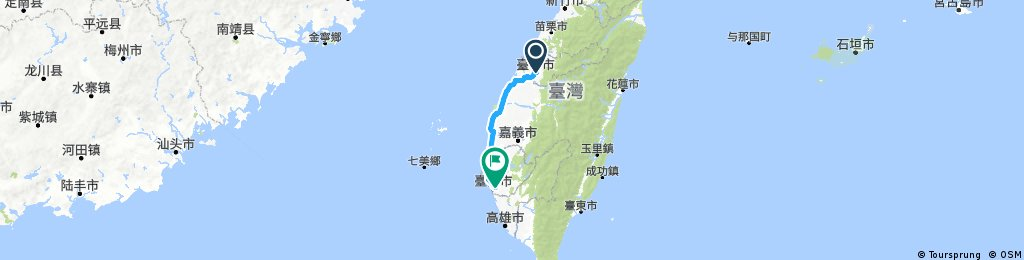 Cycling Around Taiwan Day1