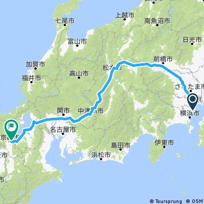 1 er partie 11 jours 53km/ j