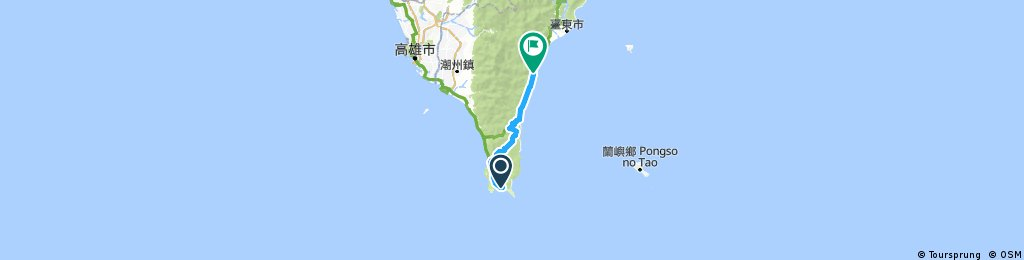 Cycling Taiwan Day 8: Kenting to Taimali