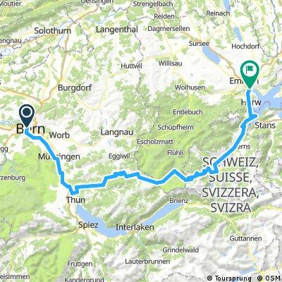 2013 Bern-Schangnau-Sörenberg-Luzern