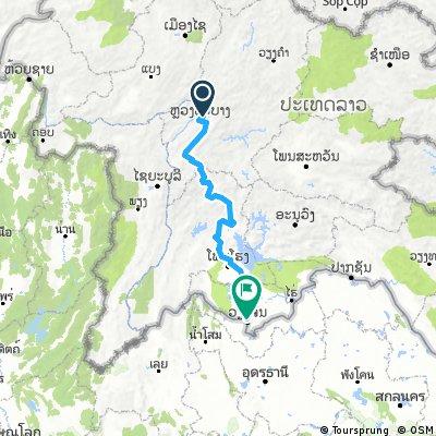 Laos 1 : Luang Prabang → Vientiene