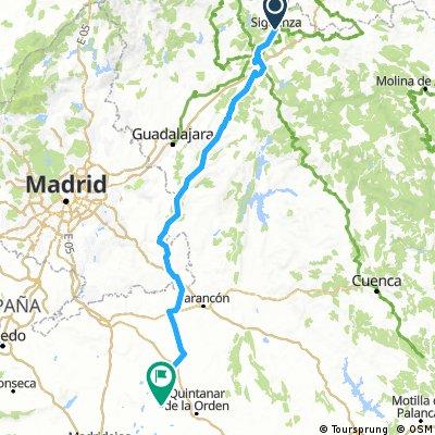 8 Siguenza - La Villa de Don Fadrique (hotel?) 210km