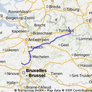 Reusel - Grimbergen (BE) 2. Tag