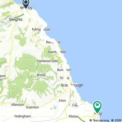 Whitby to Filey