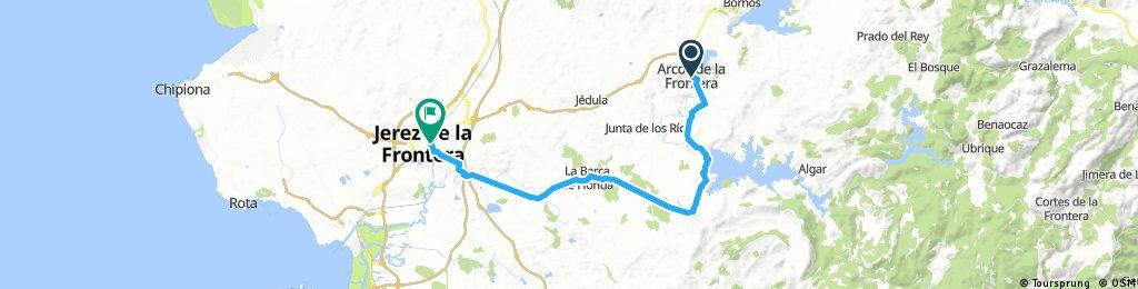 BHA D04 Acros de la Frontera - Jerez de la Frontera 55 km
