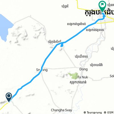 J015 – Vendredi 20 janvier 2017  Sdao – Battambang avec visite du Phnum Kampov au passage