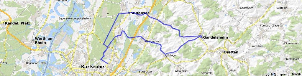 Gondelsheim Trainigsrunde
