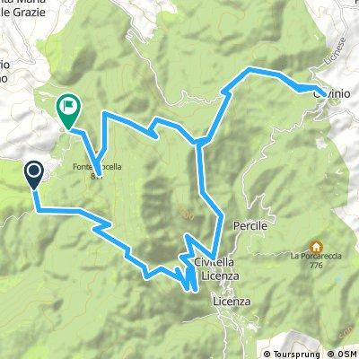 Monteflavio - Orvinio - Passo Croce