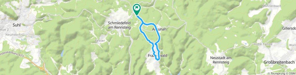 1.5.1. Skitour Frauenwald kleine Runde