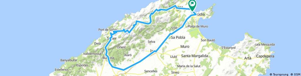 Mallorca-Port Blue-Söller-122km