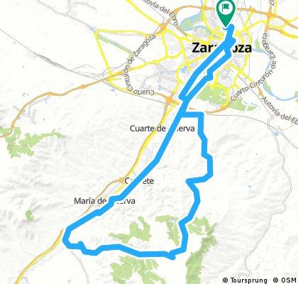 Zgz - montañes - Botorrita - zgz
