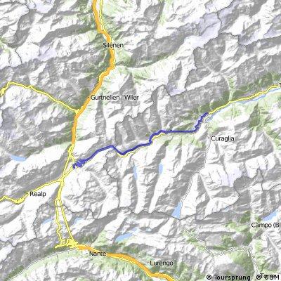 Cycling the Alps Oberalppass (2046m)