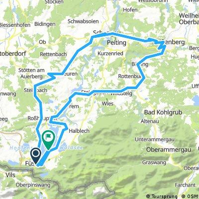 Quäldich.de (Allgäu) - Pfaffenwinklertour mit Hohem Peißenberg