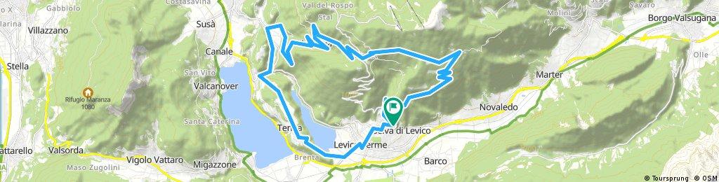 Levico-Tenna 33 km
