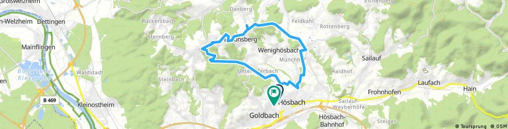 Schneetour rund um Wenighösbach