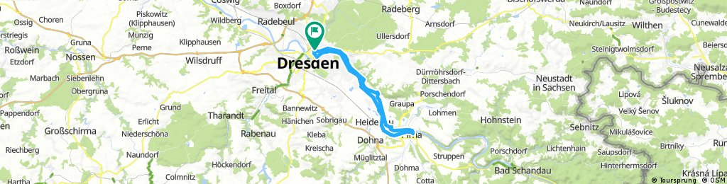 Dresden-Pirna 45km
