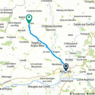Angers / Craon