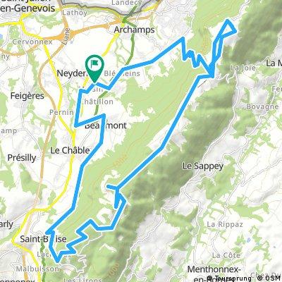 Mont Salève Snow Trails